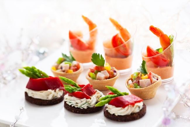 Prawns In Redfish Dip - Snacks For New Year