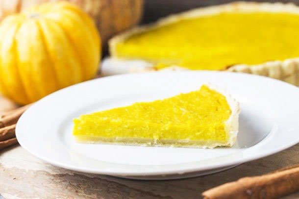 Pumpkin pie - Thanksgiving Vegetable Side Dishes