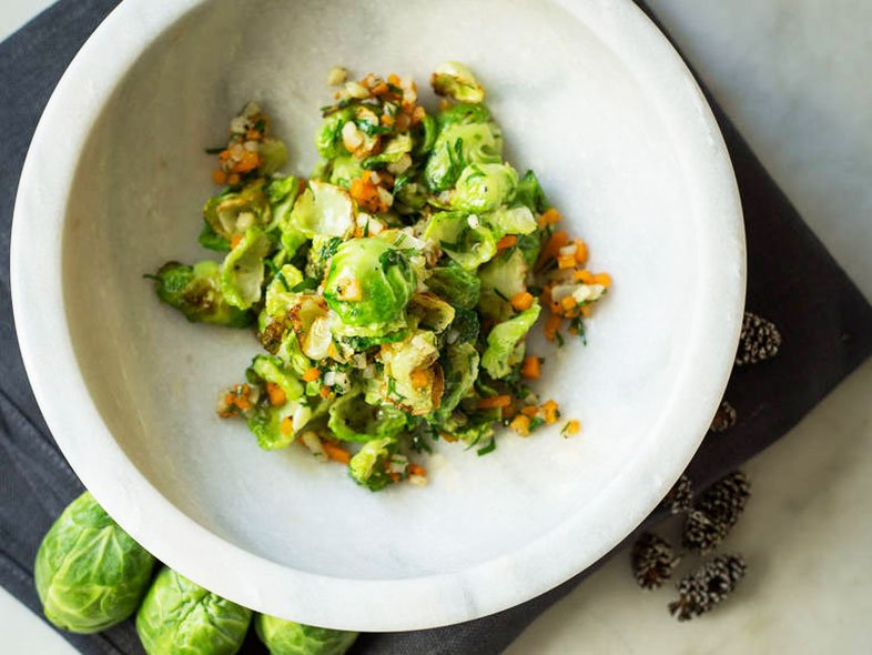 Roasted Brussels sprouts -Traditional-Thanksgiving-Side-Dishes