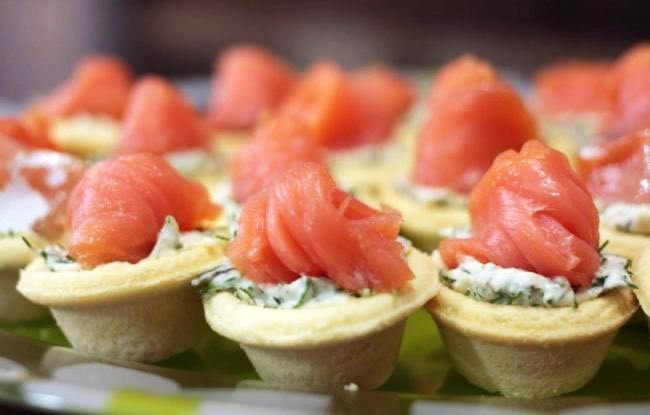 Snacks On Tartlets - Snacks For New Year