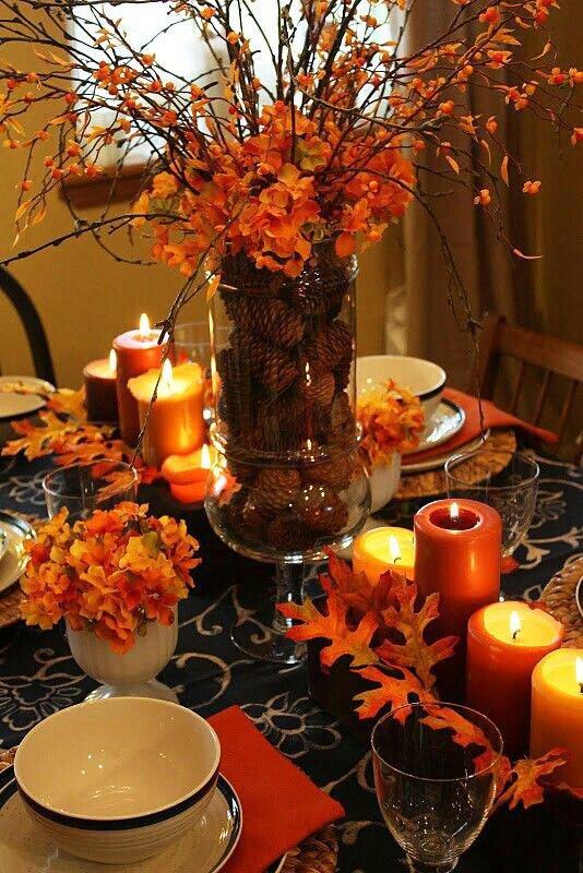 Thanksgiving Dinner Table Ideas Pinterest
