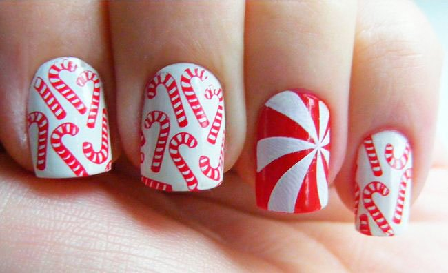 The Best Ideas Of Christmas Nails Ideas