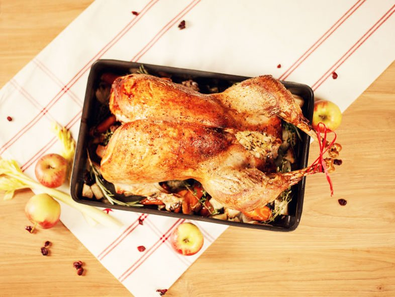 Traditional American Thanksgiving Dinner Without Start To Turkey Recipe