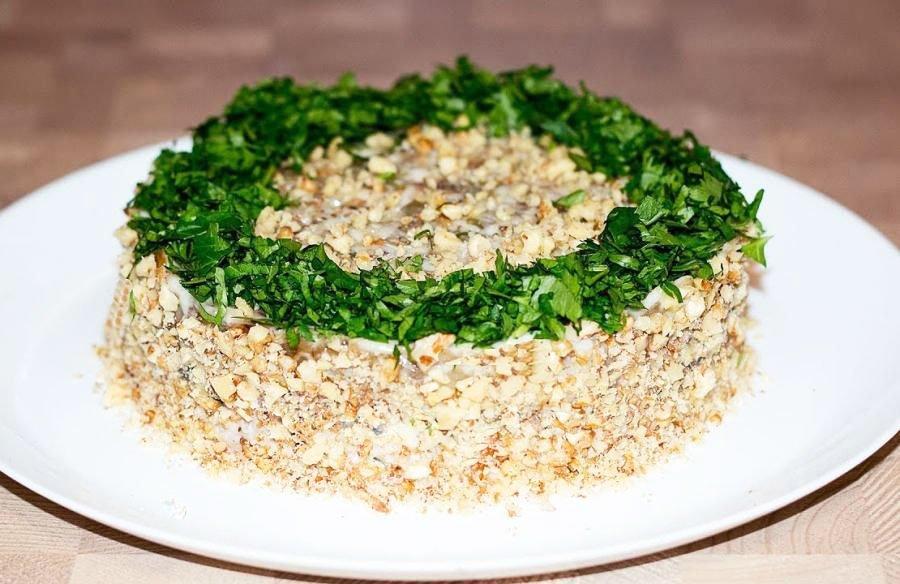 christmas side salad