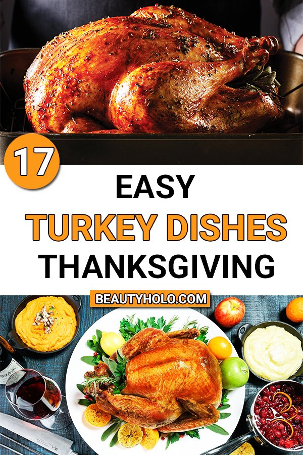 easy turkey dishes for thanksgiving