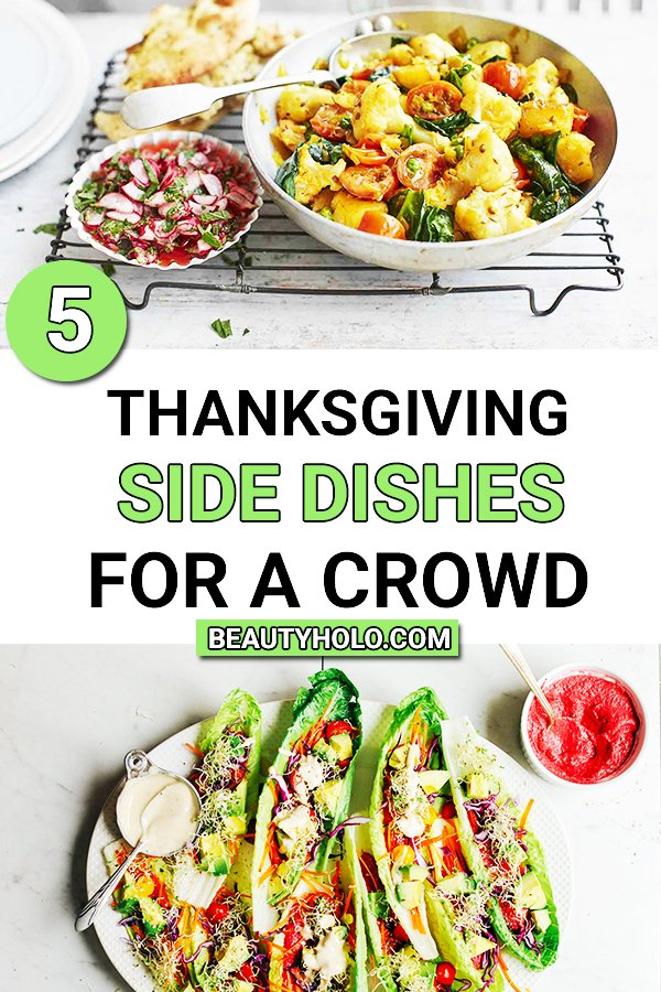 thanksgiving side dishes for a crowd