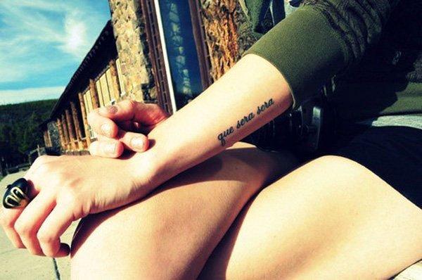 Small Delicate Female Tattoos