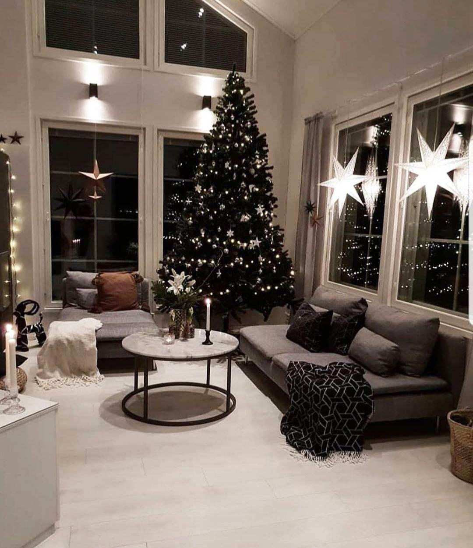 49 Simple Christmas Tree Decorating Ideas 6