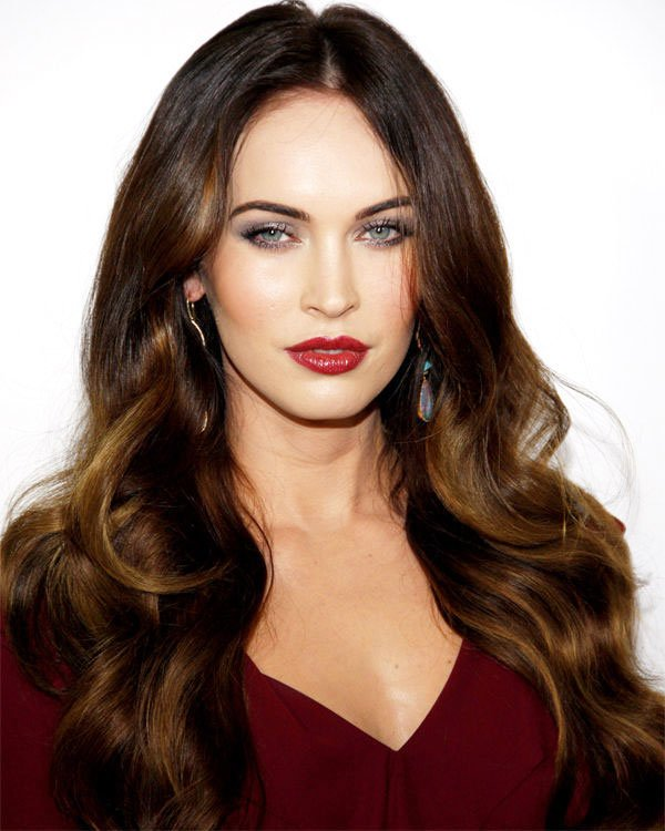 7-Perfect-Combinations-Of-Haircut-And-Dyeing- Anne-Hathaway-6 -Megan-Fox