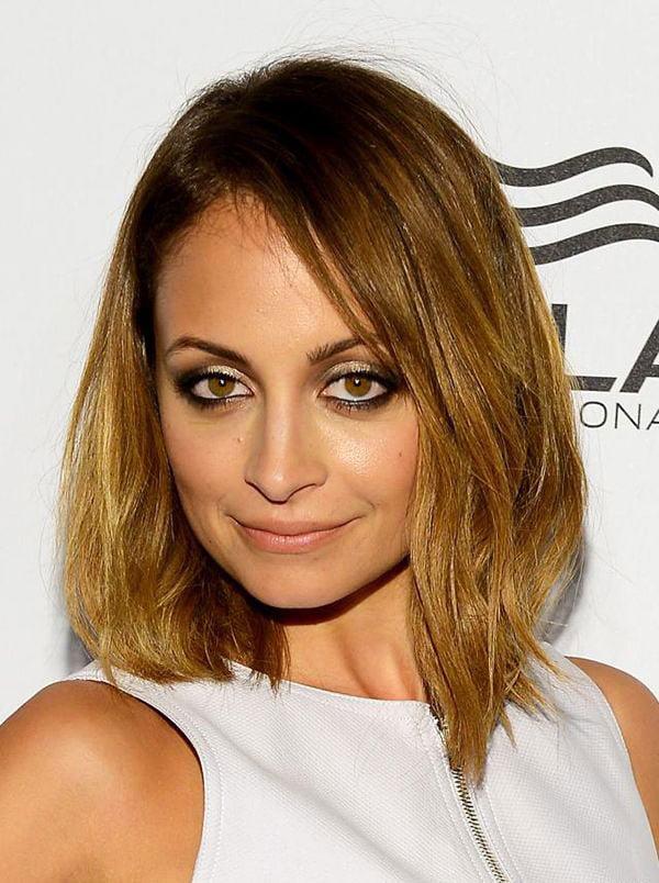 Nicole Richie - Long Lob Haircut