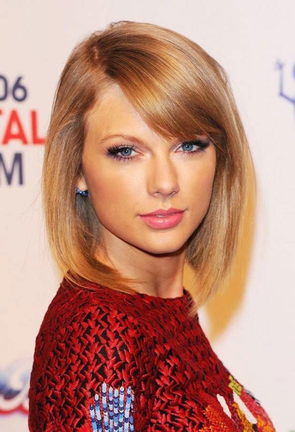 Taylor Swift - Long Lob Haircut