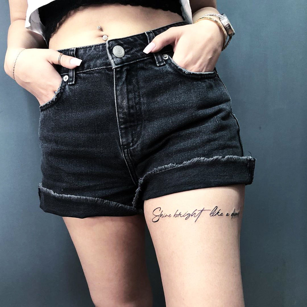 Meaningful Words Tattoo For Women