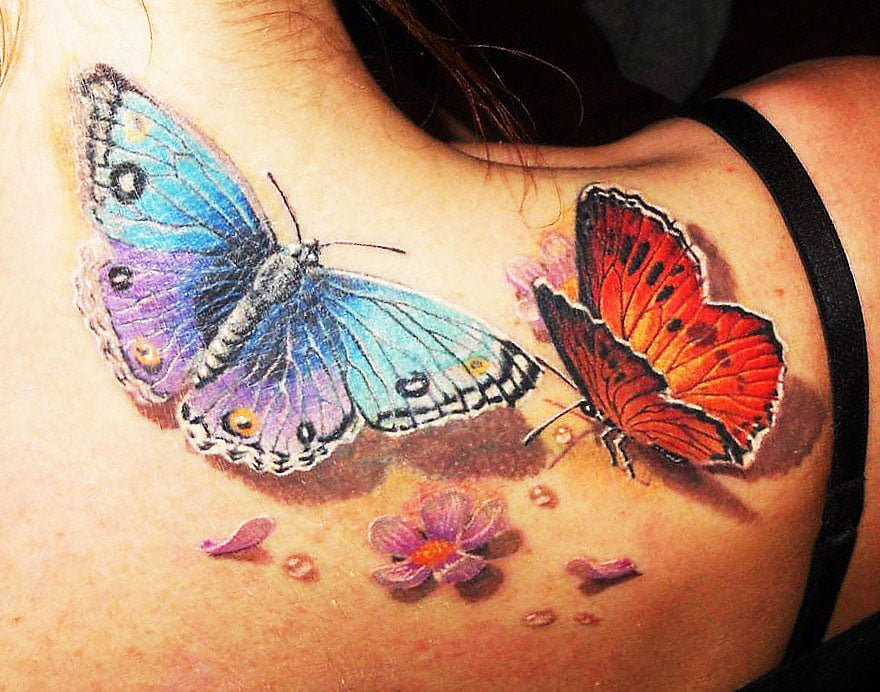 43 Best Cute Tattoos, Photos, Sketches And Values