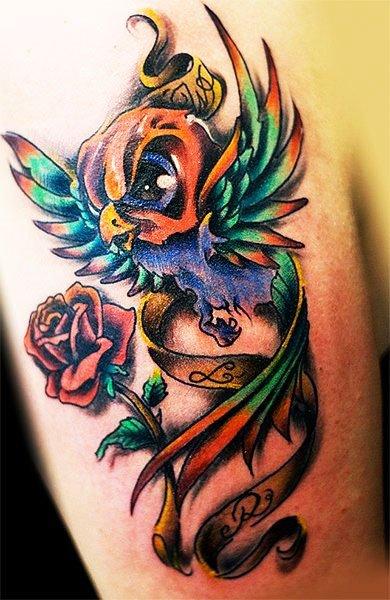 Birds Tattoos - Best Cute Tattoos