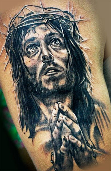 Image Of Religious Themes On The Skin - Best Cute Tattoos