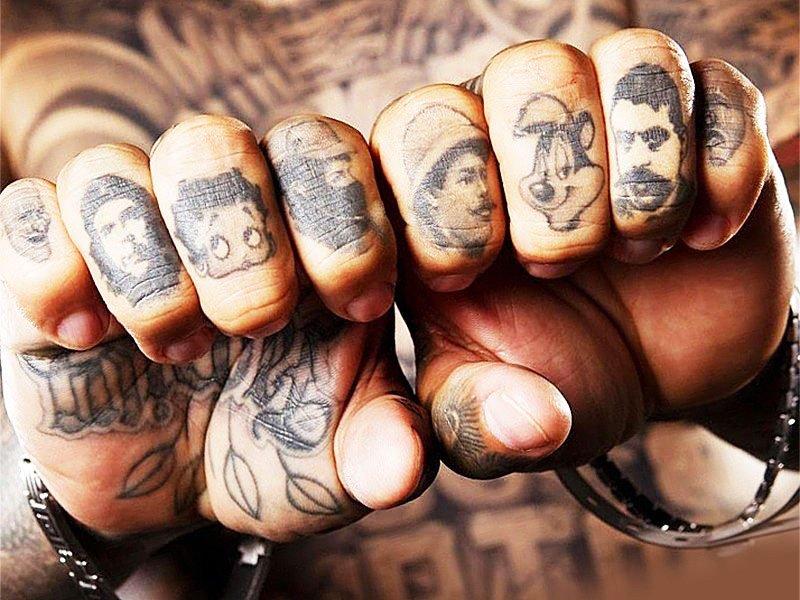 Tattoos In Prisoners - Best Cute Tattoos