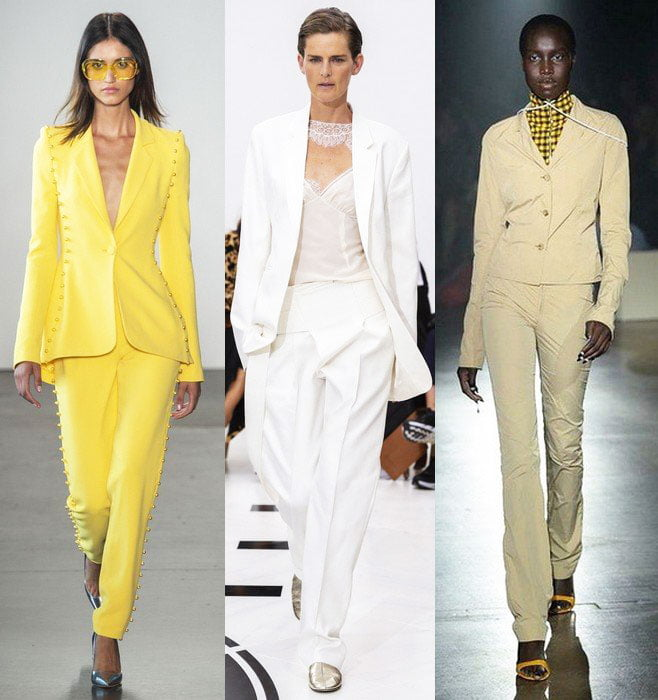 Trouser Suits In The Summer Wardrobe - Summer Outfits