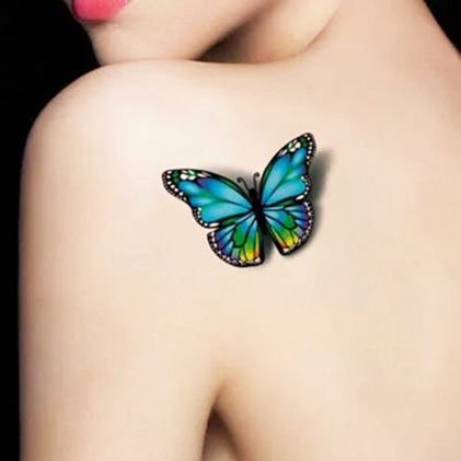 Girls' Value - Unique Butterfly Tattoos