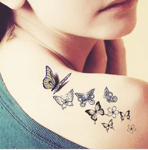5 Facts With 25 Amazing Unique Butterfly Tattoos