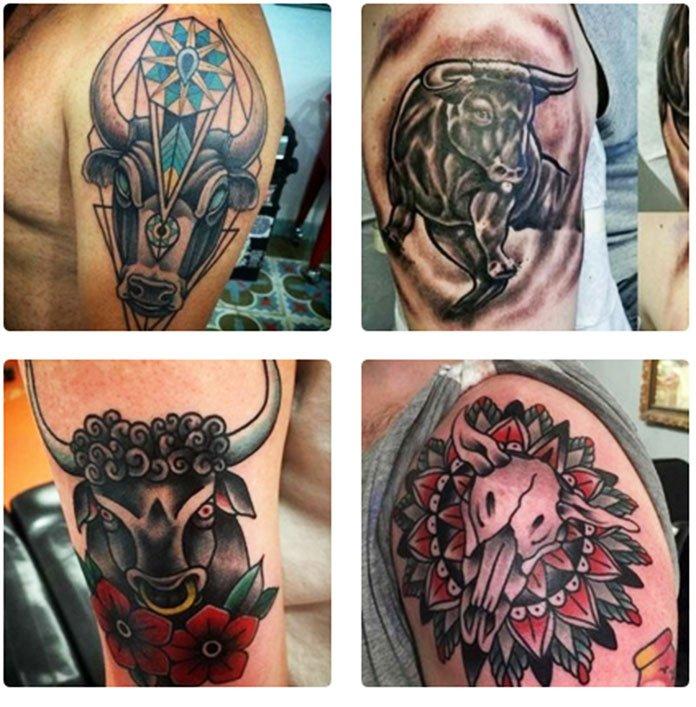 Types Of Bull Tattoos - Best 27 Bull Tattoo Images For Men & Women