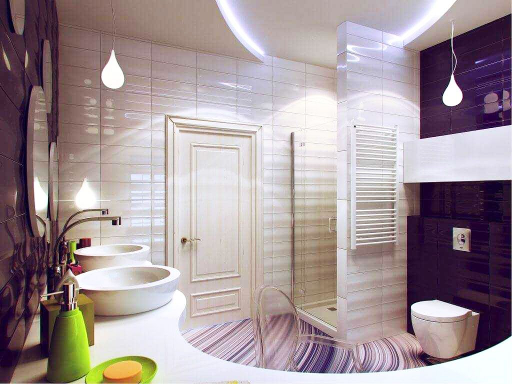 modern bathroom decorating ideas 19