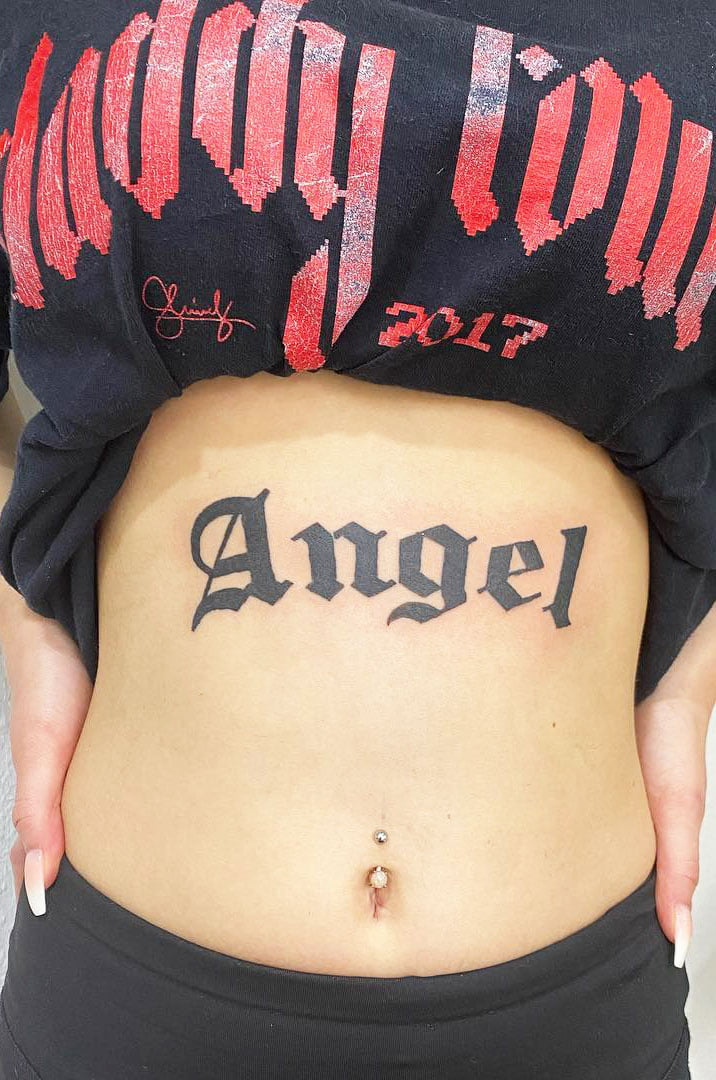 Love Tattoo Inscriptions About The Family