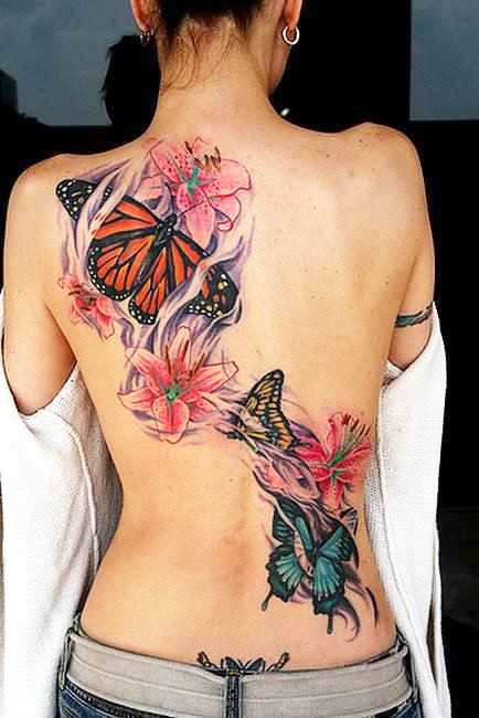 21 Temporary Cute Spider Tattoo For Women
