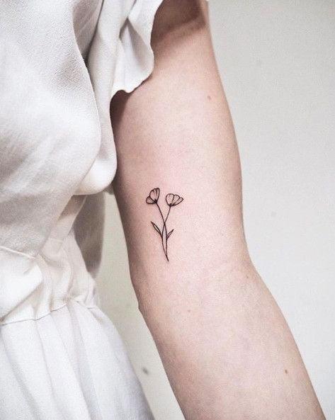 Little Tattoo- 41 Best Small Flower Tattoos For Women
