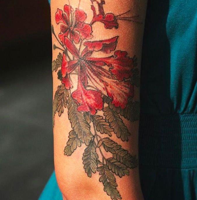Small Flower Tattoos For Women