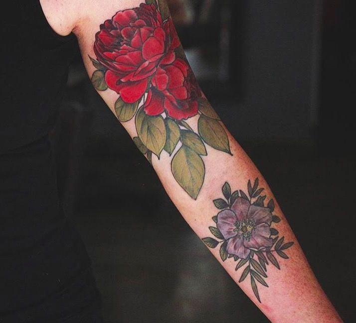 Tattoo Peony - 41 Best Small Flower Tattoos For Women