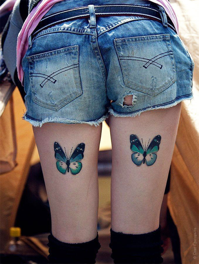 25 Amazing Unique Butterfly Tattoos