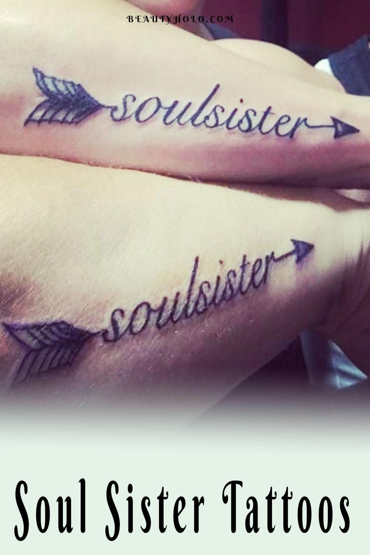 Soul Sister Tattoos - Matching Tattoos
