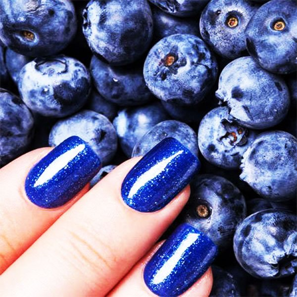 13 Best Ideas Of Blue Long Nails Design With Images