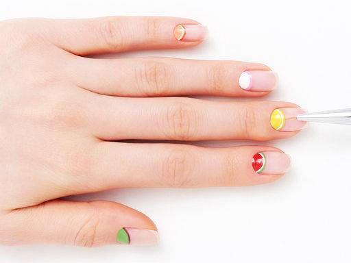 19 Amazing Ideas Of Lemon Nails: Lemon Nail Art Images