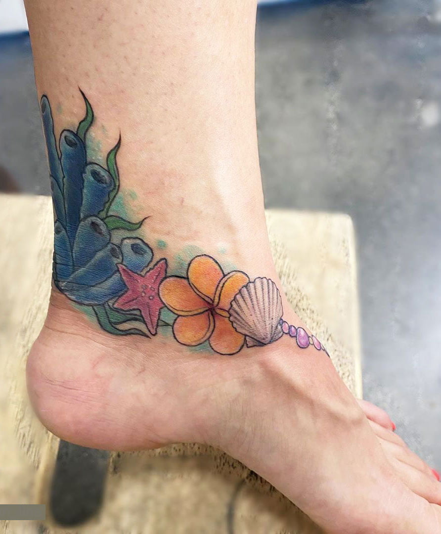 Finding The Best Female Ankle Tattoos - Ankle Tattoo