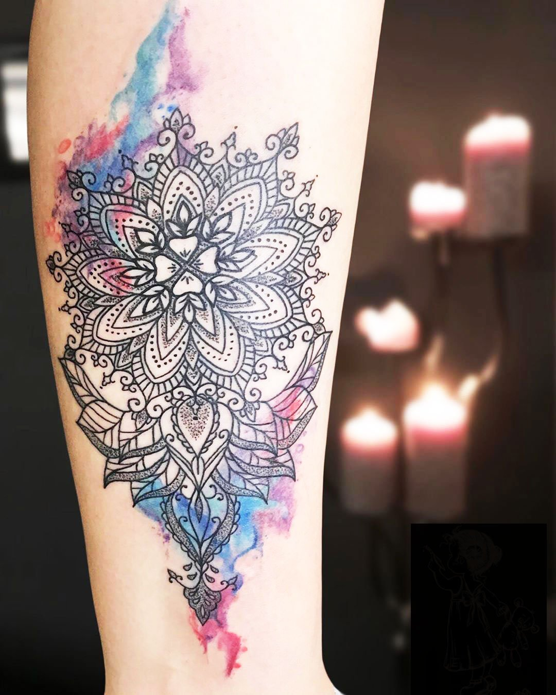 Pretty Ankle Tattoos - Ankle Tattoo