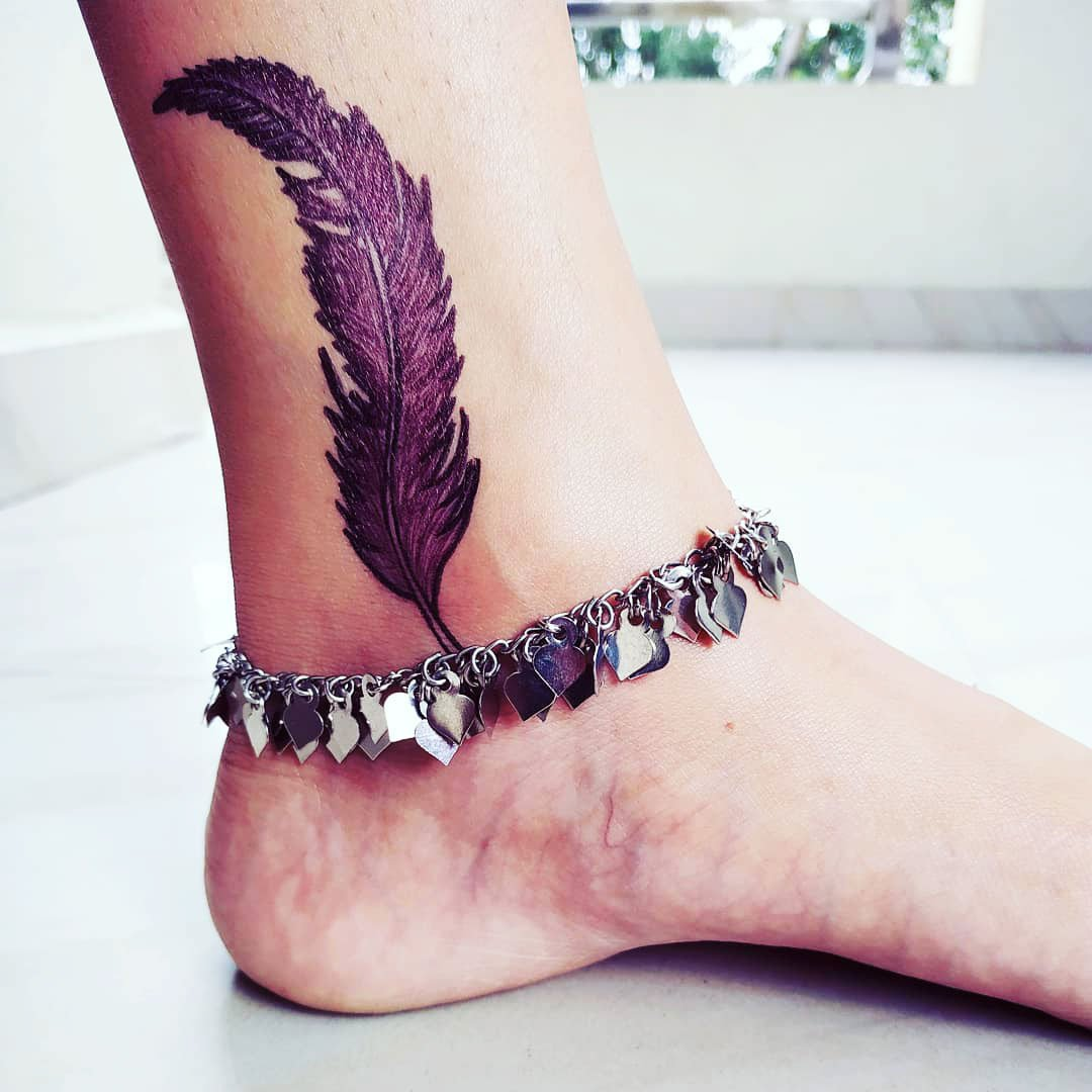 31 Best Ankle Tattoo Image Ideas & Design