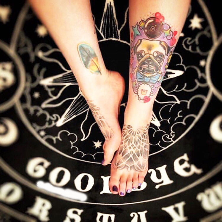 Ankle Tattoos For Women - 31 Best Ankle Tattoo Image: Ideas & Design