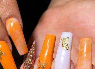 31 Best Butterfly Nails | Butterfly Nail Art Design
