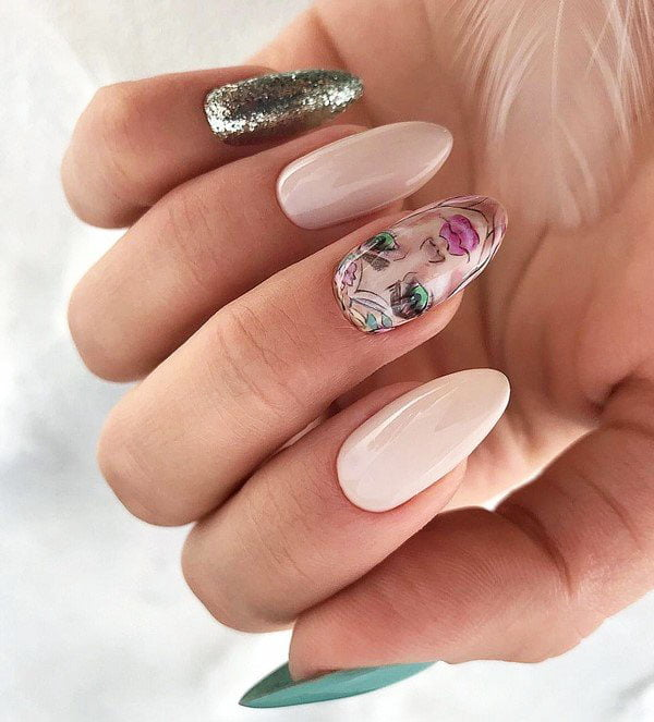 Trendy Fall Nail Design