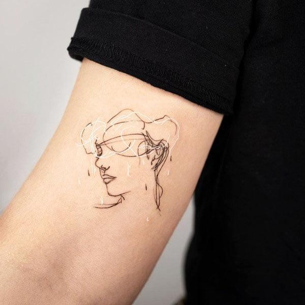 Lines - 41 Unique Minimalist Tattoos Designs For Women