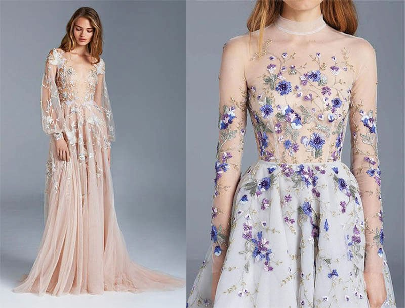 Translucent Dresses - New Years Eve Outfit Ideas For 2021