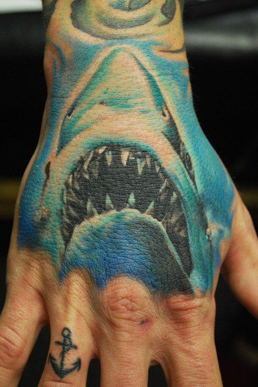 17 Best Simple Shark Tattoo Ideas