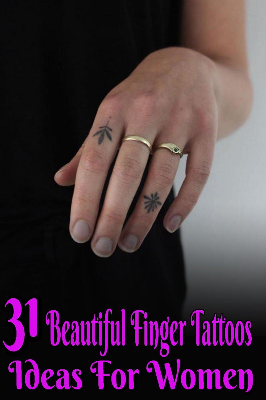 Finger Tattoos Ideas For Women