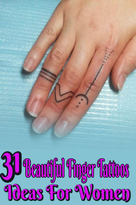 Tattoo on fingers